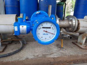 ứng dụng đồ hồ đo lưu lượng xăng dầu